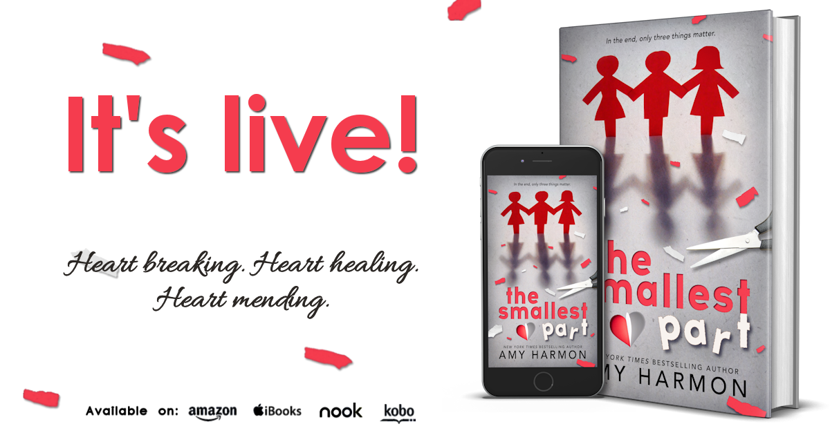 Review, Excerpt & Giveaway: The Smallest Part by Amy Harmon