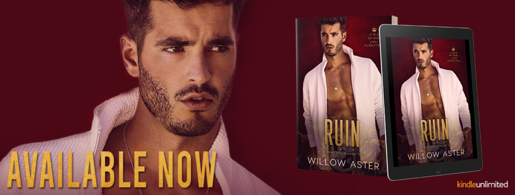 Release Blitz ~ Ruin by Willow Aster